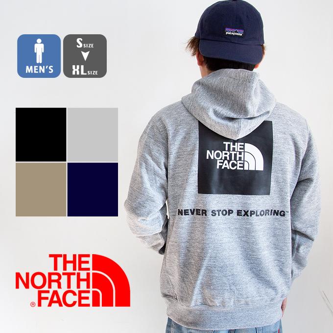 【 THE NORTH FACE ザノースフェイス 】 Back Square Logo Hoodie バックスクエアロゴフーディ メンズ NT12034 / トップス パーカー フーディ スウェット トレーナー プルオーバー 裏毛 スクエアロゴ ブランド アウトドア カジュアル 春 north パーカー ノース パーカー 20SS