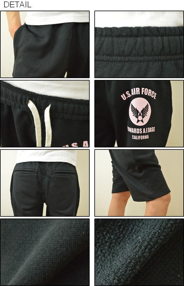 "( TB スウェットショーツ ) ""U. S. AIR FORCE CA ' JEANSBUG ORIGINAL PRINT sweat shorts オリジナルユーエスエアフォースミリタリー print Tri-blend Sweat Shorts shorts shorts short bread Jersey pants"