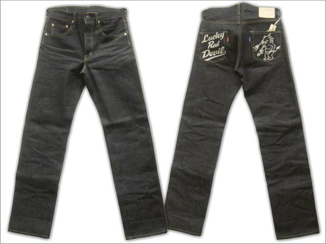 TEDMAN特德人员牛仔裤粗斜纹布DEVIL-005