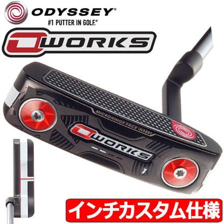 【インチカスタム仕様】【送料無料】【ゴルフ】【パター】オデッセイ ODYSSEY 2017 O-WORKS (オーワークス) #1 ピンタイプ パター [33.5inch/スーパーストローク Pistol GTグリップ装着](日本正規品)