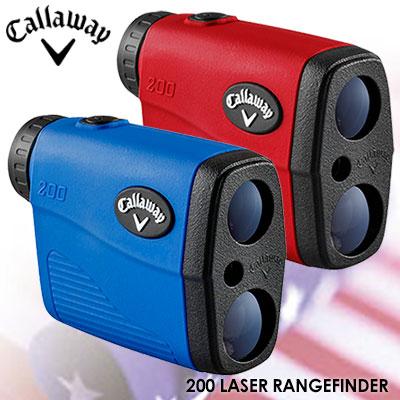 【ゴルフ】【距離測定器】キャロウェイ Callaway 200 LASER RANGEFINDER USA直輸入品