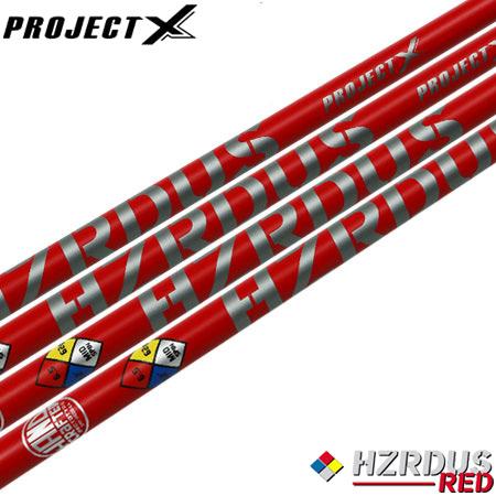 【送料無料】【ゴルフ】【シャフト】プロジェクトX ProjectX HZRDUS (ハザーダス) REDシリーズ [ウッド用カーボンシャフト]