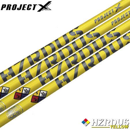 【送料無料】【ゴルフ】【シャフト】プロジェクトX ProjectX HZRDUS (ハザーダス) YELLOWシリーズ [ウッド用カーボンシャフト]
