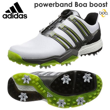 【ゴルフ】【スパイクシューズ】アディダス adidas powerband Boa boost パワーバンド ボア ブースト メンズシューズ Q44848