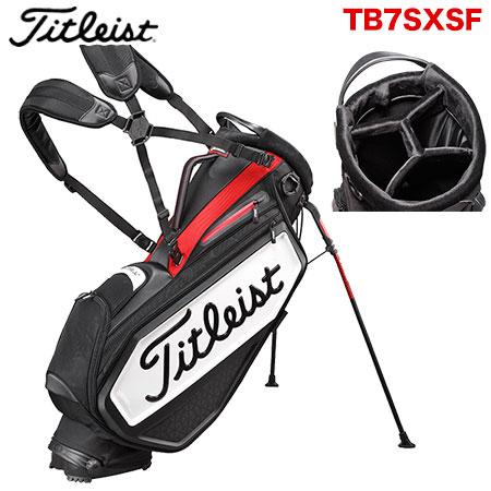【ゴルフ】【キャディーバッグ】タイトリスト Titleist メンズ スタッフ・スタンドバッグ TB7SXSF 日本正規品