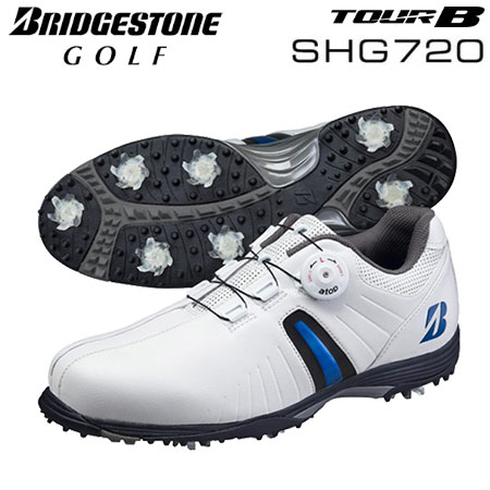 【ゴルフ】【スパイクシューズ】ブリヂストンゴルフ BRIDGESTONE GOLF メンズ TOUR B スパイク SHG720 日本正規品