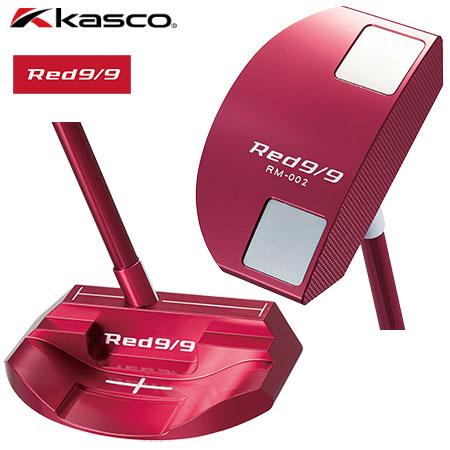 【送料無料】【ゴルフ】【パター】キャスコ Kasco Red9/9 パター RM-002 マレットタイプ [スーパーストローク MID SLIM2.0装着] 日本正規品