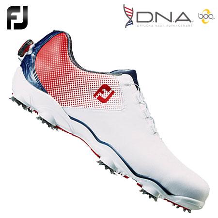 【Boaタイプ】【ゴルフ】【スパイクシューズ】フットジョイ FOOTJOY メンズ D.N.A. Boa スパイクシューズ 日本正規品 #53331