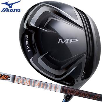 【追加シャフト装着】【送料無料】【ドライバー】ミズノ MIZUNO MP TYPE-2 460cc ドライバー [TourAD IZ-6装着] (日本正規品)