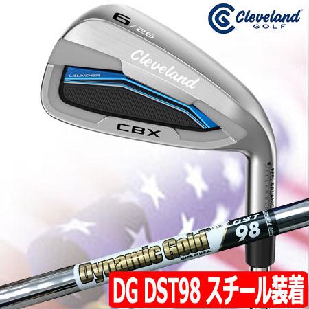 【送料無料】【ゴルフ】【アイアンセット】クリーブランド CLEVELAND (ランチャー) CBX アイアン 7本組(4I-PW) [ダイナミックゴールド DST98 スチール装着](USA直輸入品)