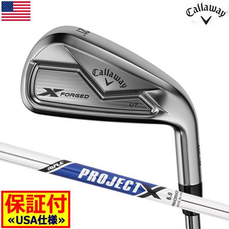 【送料無料】【ゴルフ】【ユーティリティ型アイアン】キャロウェイ CALLAWAY 18 X-FORGED UTアイアン ユーティリティ型アイアン [ProjectXスチール装着](USA直輸入品)