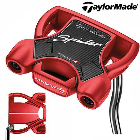 【送料無料】【ゴルフクラブ】【パター】テーラーメイド TaylorMade Spider TOUR RED (スパイダーツアー レッド) パター [ダブルベンド] 日本正規品