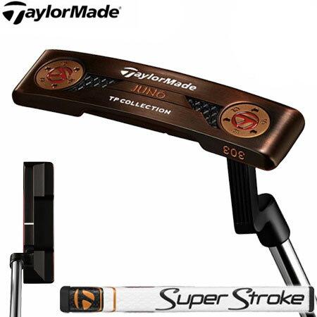 【送料無料】【ゴルフクラブ】【パター】テーラーメイド TaylorMade 2018 TP COLLECTION BLACK COPPER JUNO (TPコレクション ブラックカッパー ジュノー) パター [SuperStrokeグリップ](日本正規品)