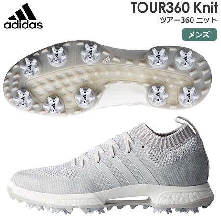 【ゴルフ】【スパイクシューズ】アディダス adidas メンズ TOUR360 Knit (ツアー360 ニット) スパイクシューズ F33628 2018年モデル