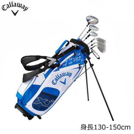 【ジュニアセット】【キャディバッグ付き】【送料無料】【ゴルフクラブ】キャロウェイ CALLAWAY XJ-3 ジュニア用 キャディバッグ付きクラブセット [身長:130-150cm対応](日本正規品)
