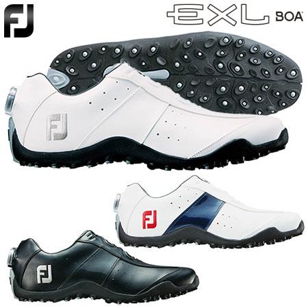 軽量性 クッション性に優れるBoaクロージャーシステム搭載のスパイクレスシューズ 土日祝も発送 ゴルフ スパイクレスシューズ フットジョイ FOOTJOY メンズ #45184 正規品 EXL 2018年モデル #45181 #45180 日本正規品 直送商品 Spikeless Boa
