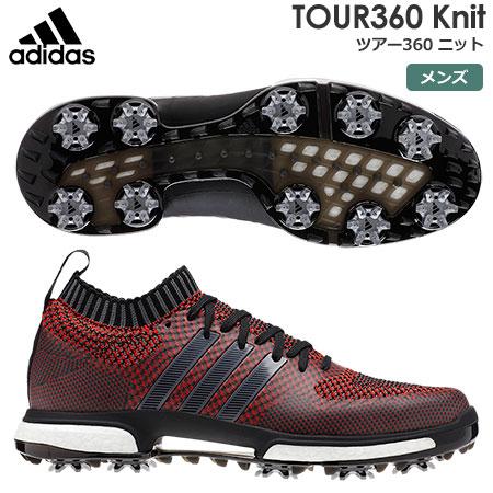 【ゴルフ】【スパイクシューズ】アディダス adidas メンズ TOUR360 Knit (ツアー360 ニット) スパイクシューズ B37772 2018年モデル