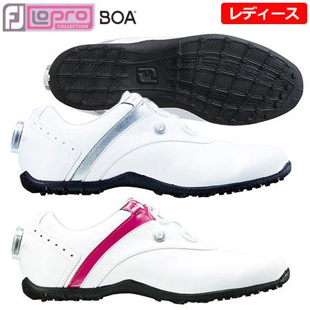 【ゴルフ】【スパイクレス】FOOTJOY フットジョイ レディース LoPro Spikeless Boa 2018年モデル (#97194 #97187)
