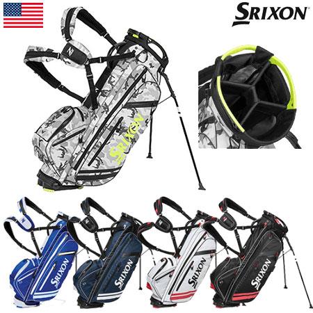 【軽量】【送料無料】【ゴルフ】【キャディバッグ】スリクソン SRIXON MEN'S Z-FOUR スタンド キャディバッグ [11800024/11800025/11800027/11800146/30800074](USA直輸入品)