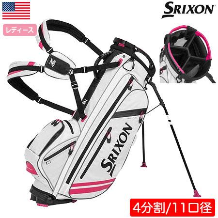 【送料無料】【ゴルフ】【キャディバッグ】スリクソン SRIXON WOMEN'S Z-FOUR スタンド キャディバッグ レディース [30800075](USA直輸入品)