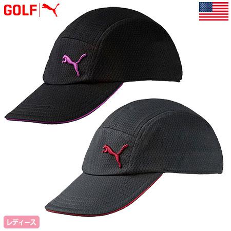 PUMA GRAY POLYESTER ADJUSTABLE VISOR CAP HAT