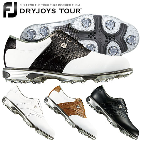 【ゴルフ】【スパイクシューズ】フットジョイ FOOTJOY メンズ DRYJOYS TOUR Lace スパイクシューズ 2018年モデル
