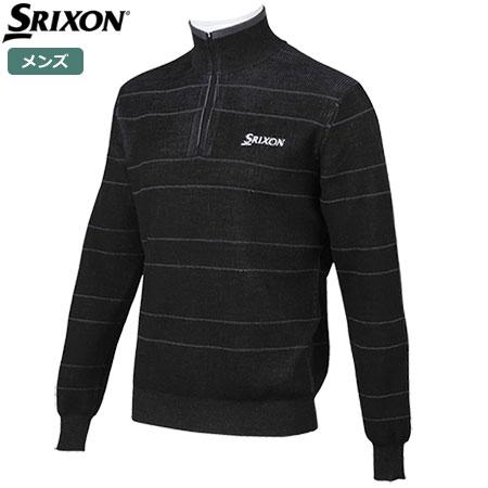 【ゴルフ】【セーター】スリクソン SRIXON メンズ ハーフジップセーター RGMMJL02 2018秋冬