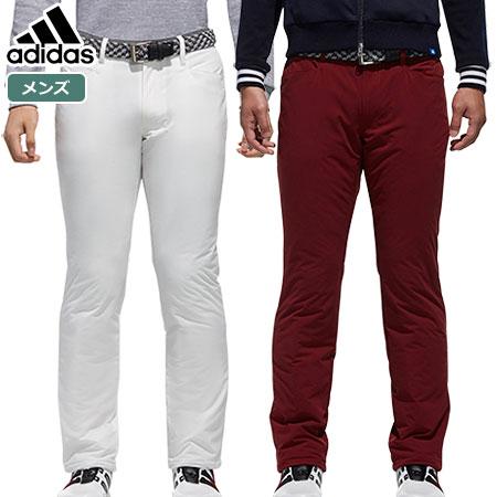 【ゴルフ】【パンツ】アディダス adidas メンズ JP adicross バックロゴ スタッフドパンツ CCS89 2018秋冬