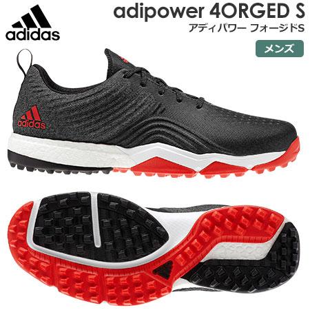 【ゴルフ】【スパイクレス】アディダス adidas メンズ adipower 4ORGED S (アディパワー フォージドS) スパイクレスシューズ BAY92 (B37175)