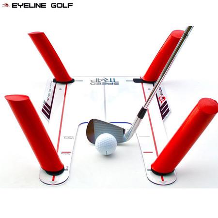 【ゴルフ】【スイング練習】EYELINE GOLF アイラインゴルフ SPEED-TRAP スピード トラップ ELG-ST01 USA直輸入品