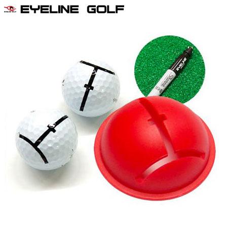 パター練習器 ボールマークの視覚効果で正確なスクエアインパクトを身に付ける ブランド品 土日祝も発送 ゴルフ トレーニング インパクトボールライナー アイラインゴルフ GOLF EYELINE 送料無料新品 ELG-BL32