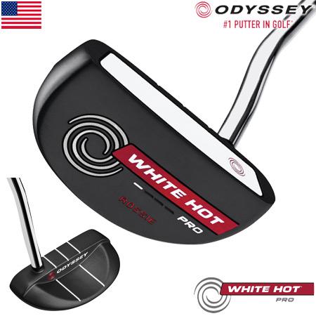 オデッセイ 2018 WHITE HOT PRO 2.0 BLACK パター ROSSIE ロッシー USA直輸入品