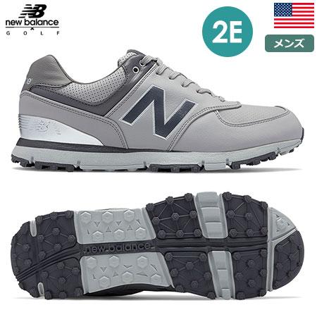 ニューバランス メンズ NB 574 スパイクレスシューズ (2E) NBG574-GRS newbalance Grey/Silver USA直輸入品