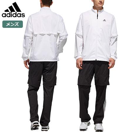 アディダス メンズ PF CLIMASTORM レインスーツ FVE32 ホワイト/ブラック EI5677 adidas 2019春夏 日本正規品
