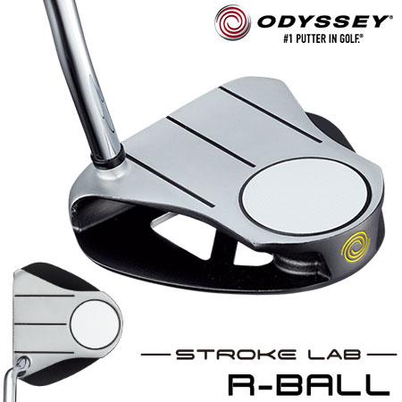 オデッセイ ストローク ラボ R-BALL パター ODYSSEY STROKE LAB 2019年モデル [Over sizeグリップ装着] (日本正規品)
