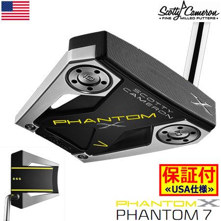 スコッティキャメロン 2019 PHANTOM X パター(7) ミッドベンドシャフト USA直輸入品【1年保証】【SCOTTY CAMERON】