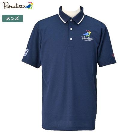 【限定】パラディーゾ メンズ Ai54 Limited ビクトリー半袖ポロシャツ AIM01A ネイビー PARADISO