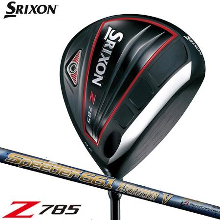 スリクソン SRIXON 2018 Z785 ドライバー [Speeder EvolutionV装着](日本正規品)【ZERO SRIXON】【ゼロスリクソン】