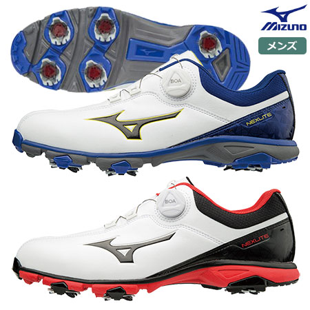 ミズノ NEXLITE 005 Boa ネクスライト005ボア メンズ スパイク ゴルフシューズ EEE 51GM1810 mizuno 日本正規品
