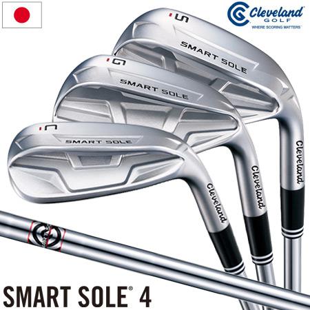 クリーブランドゴルフ スマートソール4 ウェッジ 2020 日本正規品 メンズ スチールシャフト【SMARTSOLE4】【ウエッジ】