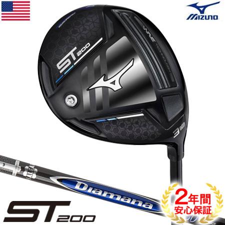 ミズノ ST200 フェアウェイウッド Diamana S+ PLUS Limited Blue60 USA直輸入品【調整機能無し】