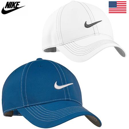 ゴルフ キャップ 帽子 CAP ゴルフウエア 軽量 ファクトリーアウトレット MENS ナイキ 333114 Front USA直輸入品 メンズ Swoosh 安値 土日祝も発送