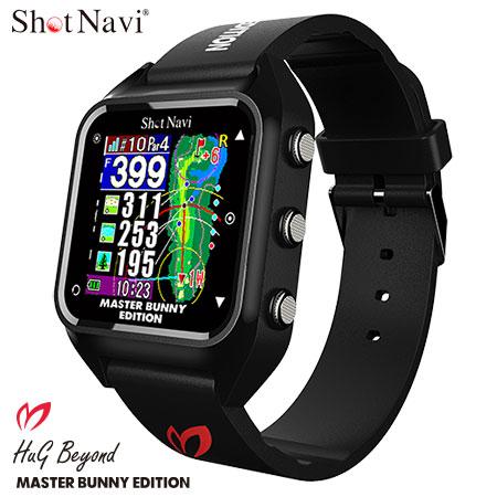 ゴルフ ショットナビ 腕時計型 GPS 距離測定 ショットナビ HuG Beyond Master Bunny 腕時計型 GPS ゴルフナビ Shot Navi 2021年モデル