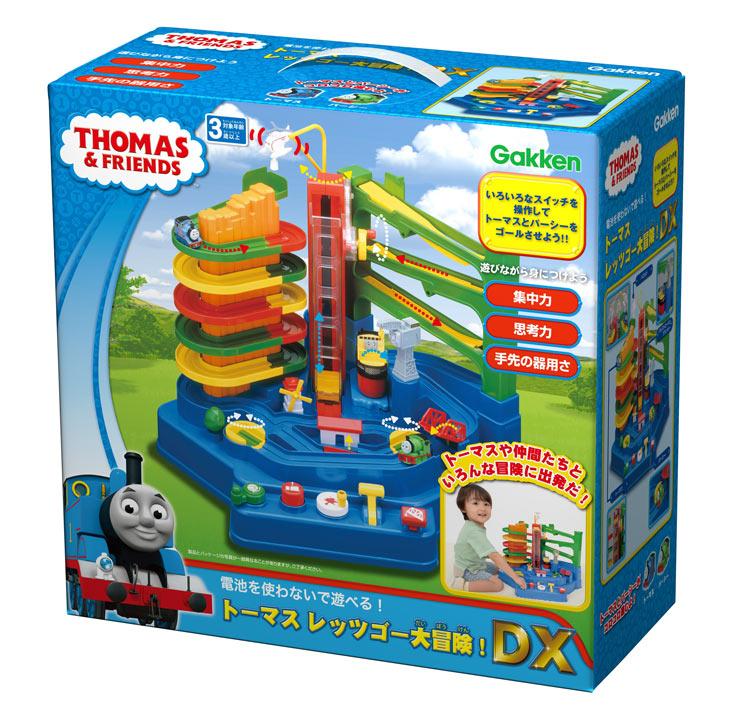 GKN-83407 きかんしゃトーマス トーマス レッツゴー大冒険!DX  ギフト 誕生日 プレゼント 知育玩具 3歳
