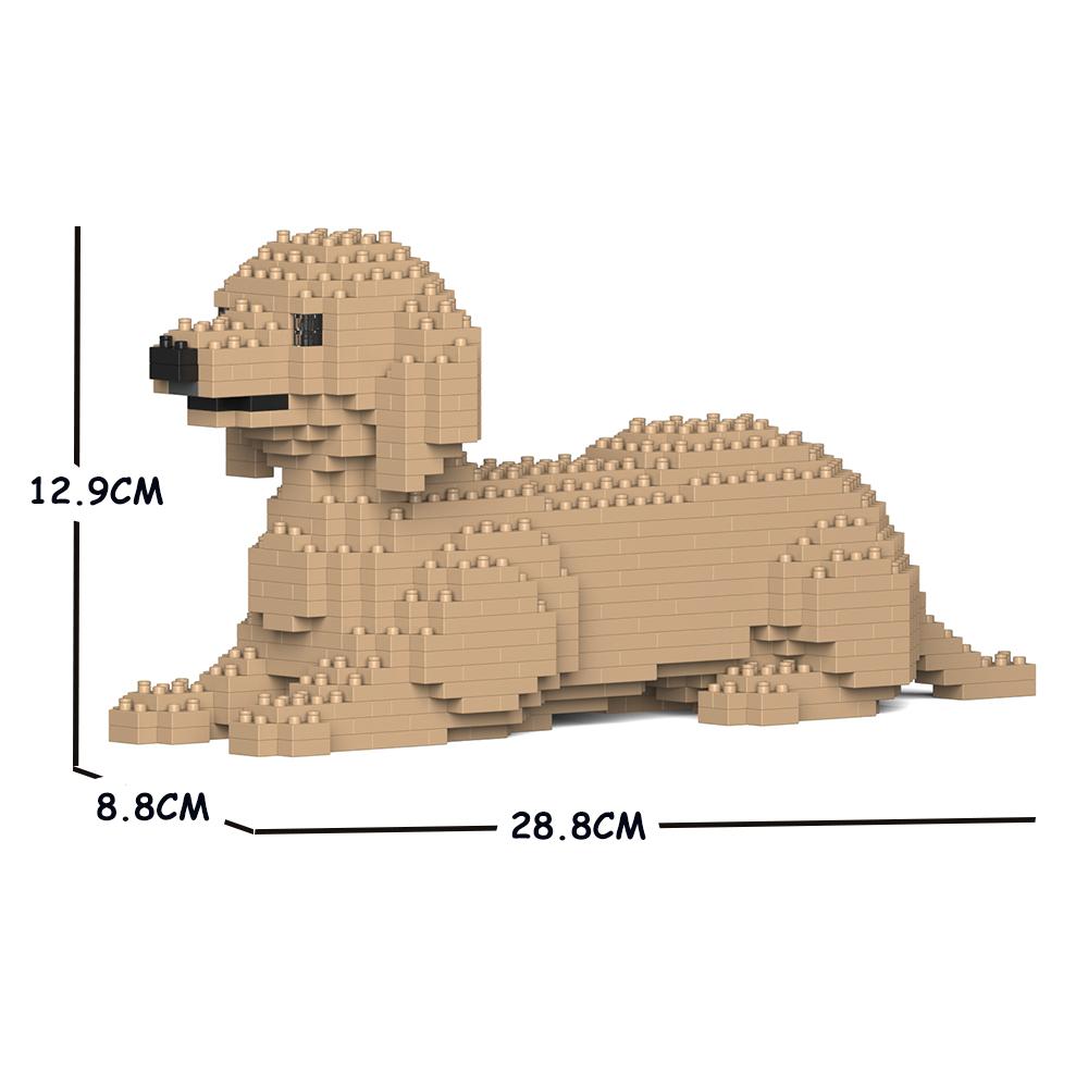 JEKCA ジェッカブロック ダックスフンド 04S-M03 Sculptor ST19DSD04-M03