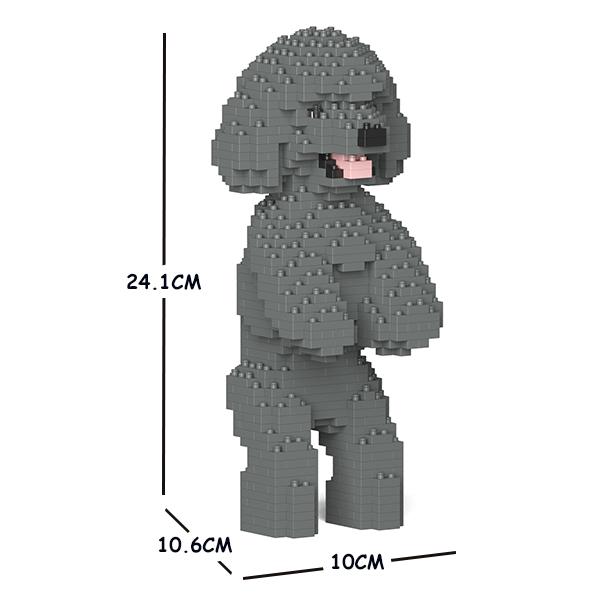 JEKCA ジェッカブロック トイ・プードル 04S-M06 Sculptor