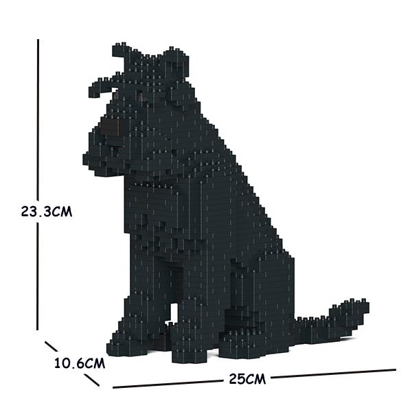 JEKCA ジェッカブロック スタンダード・シュナウザー 04S-M03 Sculptor ST19SS04-M03