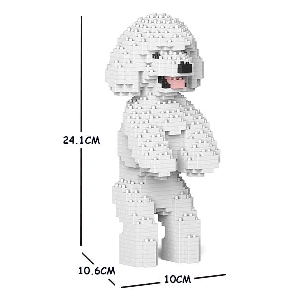 猫 ネコ ねこ 犬 いぬ ランキングTOP5 動物 block 再入荷 予約販売 animal dog cat プードル 04S-M01 JEKCA ジェッカブロック トイ ホビー パズル 大人向けおもちゃ ST19TPD04-M01 Sculptor