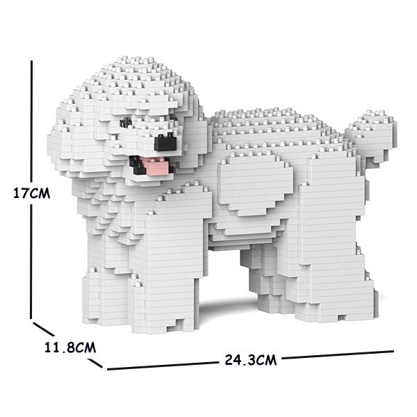 JEKCA ジェッカブロック トイ・プードル 05S-M01 Sculptor ST19TPD05-M01