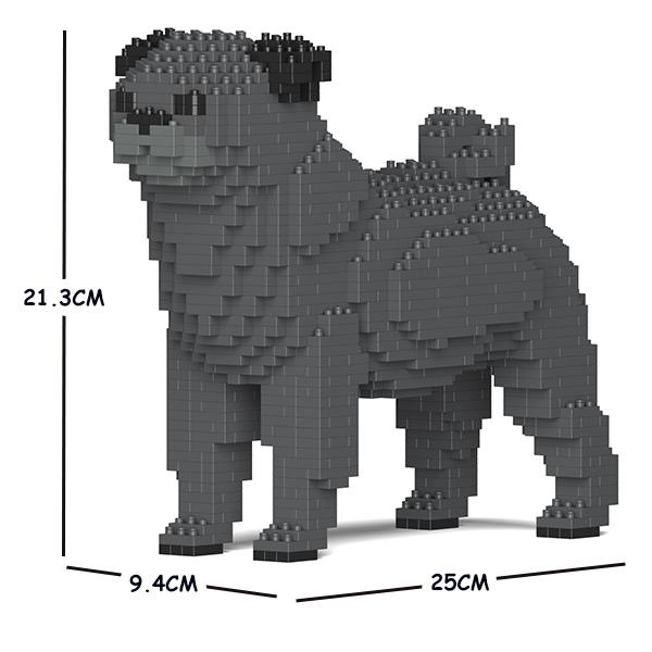 JEKCA ジェッカブロック パグ 01S-M04 Sculptor ST19PT09-M04